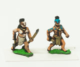 SYF33 Assorted Woods Indians with Spear