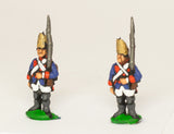 SYP8a Seven Years War Prussian: Grenadier at attention, variants