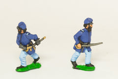 UN8 Union Infantry: Assorted Officers in advancing / action poses