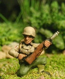 US12 US Infantry: Laying/kneeling, M1 Carbine