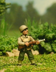 US1 US Infantry: Normandy: Advancing with M1 carbine