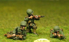 US2 US Infantry: Normandy: Laying/kneeling, M1 carbine