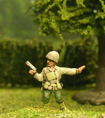 US3 US Infantry: Normandy: Officers/NCOs