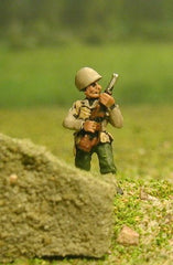 US4 US Infantry: Advancing, M1 Garand rifle