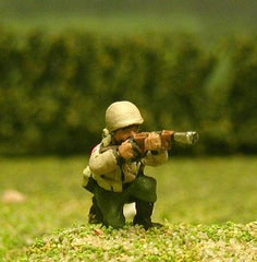 US5 US Infantry: Laying/kneeling, M1 Garand rifle