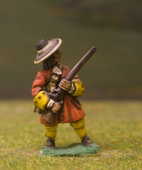 W2 Generic 17th Century: Musketeer at the Ready