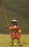 W3 Generic 17th Century: Pikeman at ease, in Wide Brim Hat