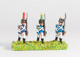 WES4 Westfalia or Berg: Line Infantry, Voltigeur or Grenadier 1812-15, in Shako