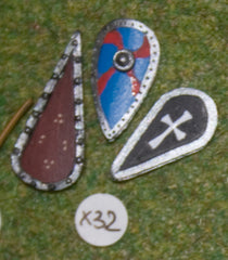 X32 Assorted Kite Shields