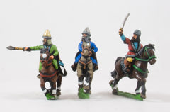 XMED13 Generic Eastern European: Light Cavalry Officers