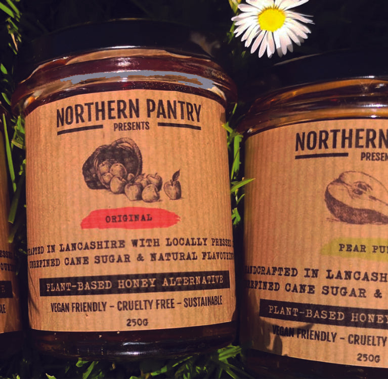 northern pantry plant based vegan apple honey alternative