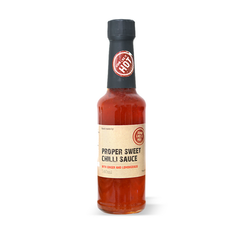 Artisan Sweet Chilli Sauce with Ginger & Lemongrass - 145ml