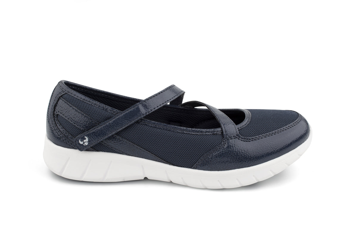 Frida Patent (Navy)