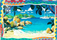Devils Bay Notecard