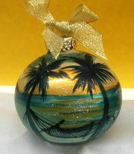 Christmas Ball Ornament - Evening Breeze