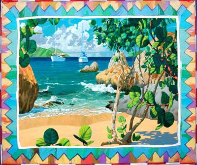 Leeward Tender Canvas Giclee
