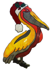 Pelican Santa Ornament