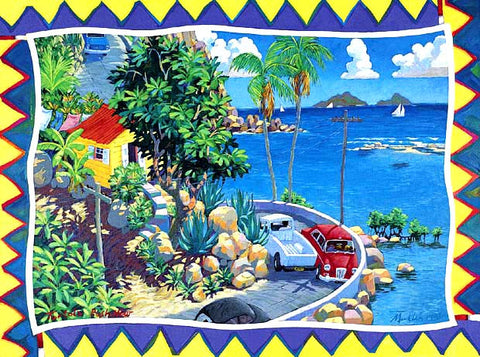 Tortola Rush Hour Notecard