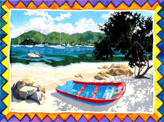 Trellis Bay Notecard