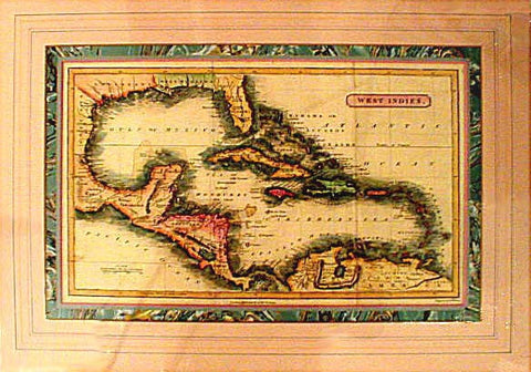 SALE!! 1770 West Indies Map - J. M. Gowan
