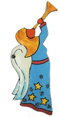 Trumpeting Angel Ornament