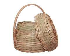 Bamboo Basket w/Cover