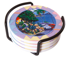 Tropical Ting Coasters