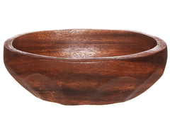 Oval Mahogany Bowl