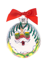 Christmas Ball Ornament - Santa