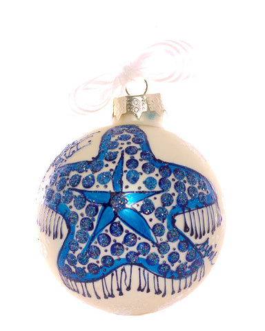 Christmas Ball Ornament - Starfish