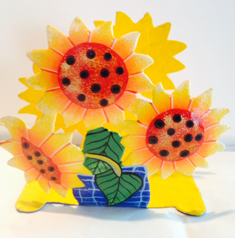 Sunflowers - Napkin Holder