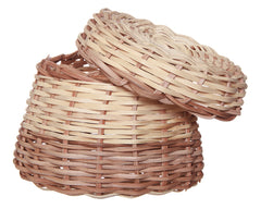 Wicker Basket w/Cover
