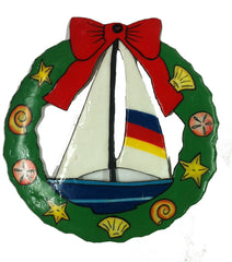 Sailboat Wreath Ornament