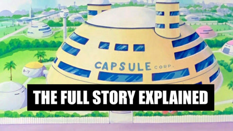Capsule Corp story