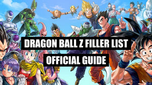 Dragon Ball Z Filler List