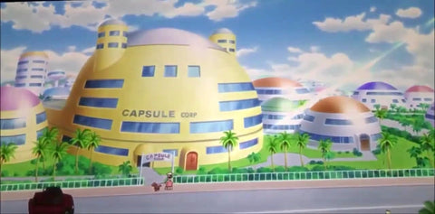 Capsule corp house