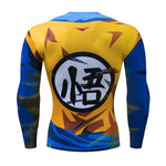 Dragon Ball Z Compression Shirt Goku Super Saiyan