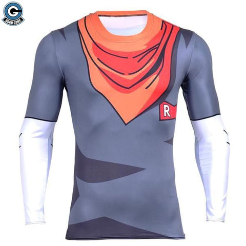 Android 17 Long Sleeve ShirT