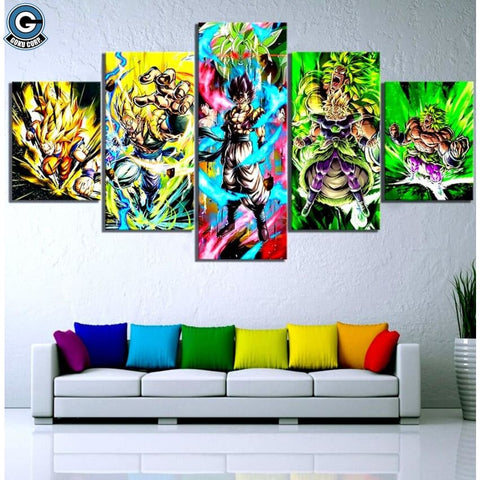 Broly Canvas