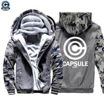 Capsule Corp Fleece Jacket
