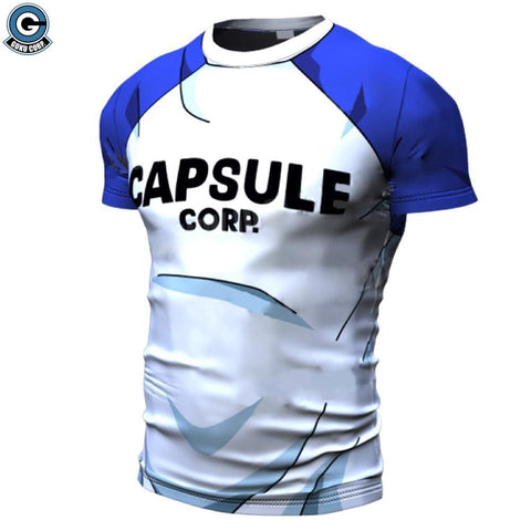 Capsule Corp Workout Shirt