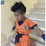 DBZ Cosplay <br>Kid Goku Costume )