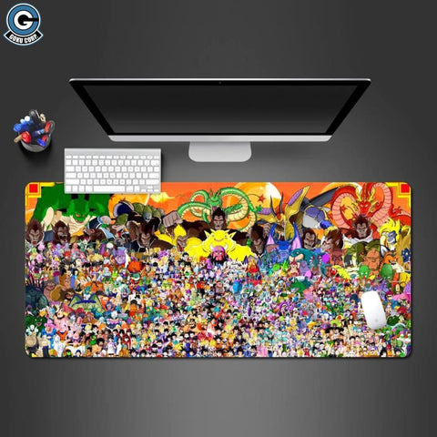 Dragon Ball Z Extended Mouse Pad