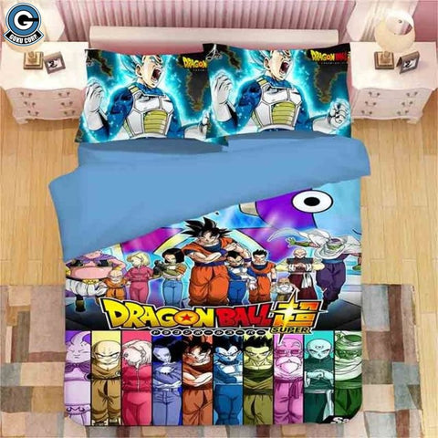 Dragon Ball Super Bedding