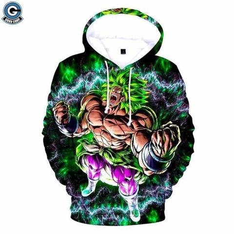 Dragon ball super broly hoodie