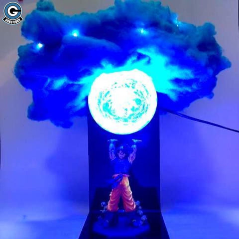 Goku Spirit Bomb Cloud Lamp