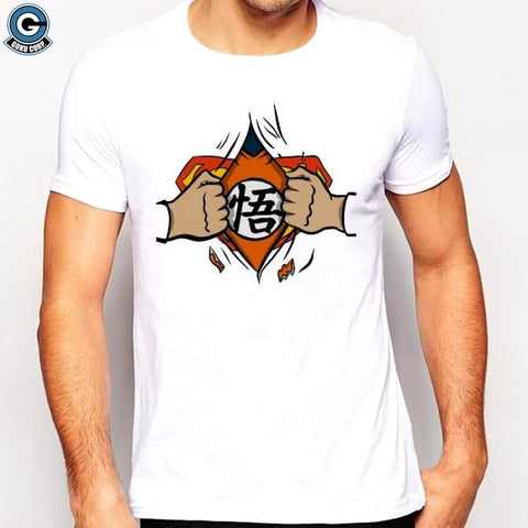 Goku Superman Shirt