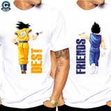 Goku and Vegeta Best Friends Shirt