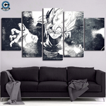 Dragon Ball Super Canvas Wall Art 5 Piece <br>Goku Black )