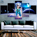 Goku Canvas Art